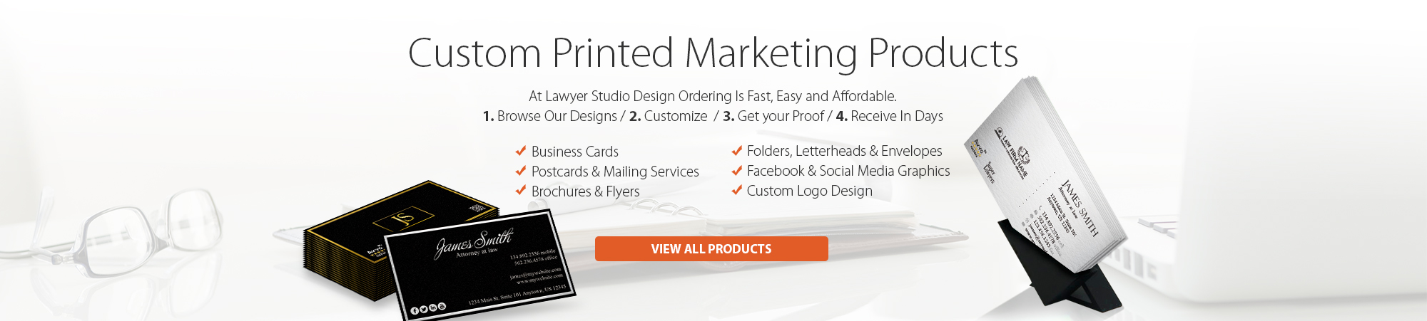 Lawyer Studio Design, Law Firm Marketing Products, Lawyer Marketing Products, Attorney Marketing Products, Law Firm Printing, Lawyer Printing, Attorney Printing