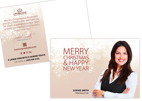 Lawyer Holiday Postcards | Law Firm Holiday Postcards, Attorney Holiday Postcards, Legal Holiday Postcards, Law Office Holiday Postcards